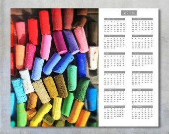 2016 Calendar Template 16x20 20x16 Instant by EyeshootPhotography