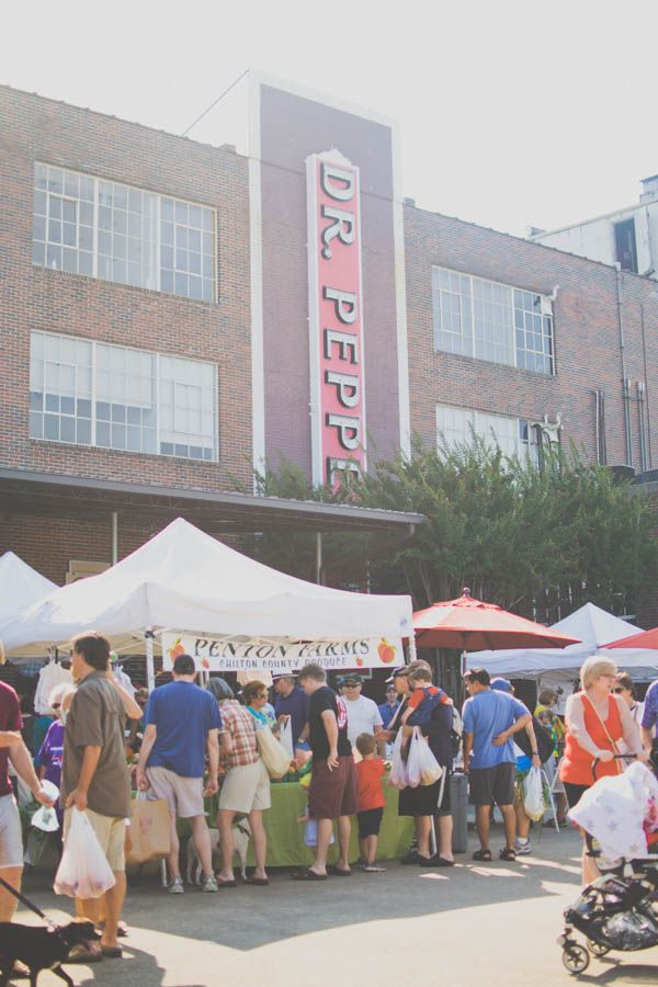 The Southern C(ity) Guide | Birmingham. Caroline Bramlett stops by Pepper Place Farmer's Market on Saturday mornings to pick up fresh flowers and locally grown fruits/vegetables.