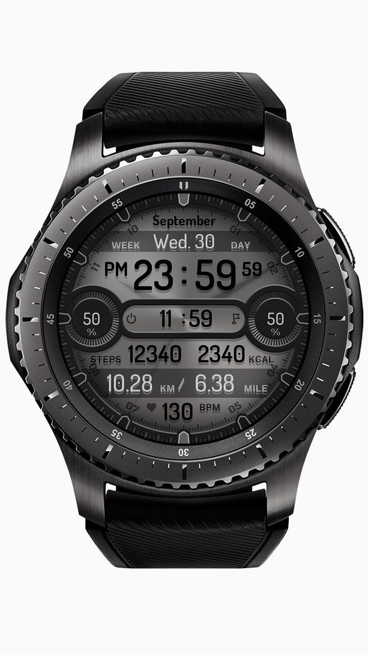 """Go to Samsung Apps :      Atmospheric digital design This watch face, where numbers appear on an opaque mirror, was inspired by the movie """"Arrival"""". In the…"""