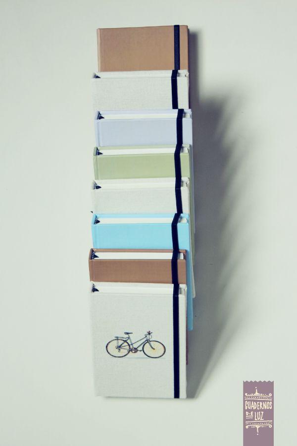 Cuadernos para Bicicletas Antiguas Restauradas by Luz Riegelhaupt, via Behance