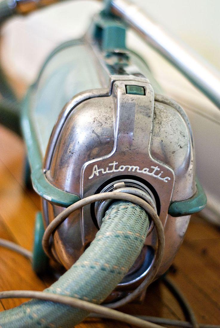An Electrolux vacuum sweeper, usually sold by door-to-door salesmen.