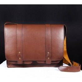 Handmade Leather Bag / Cartera ejecutivo de cuero