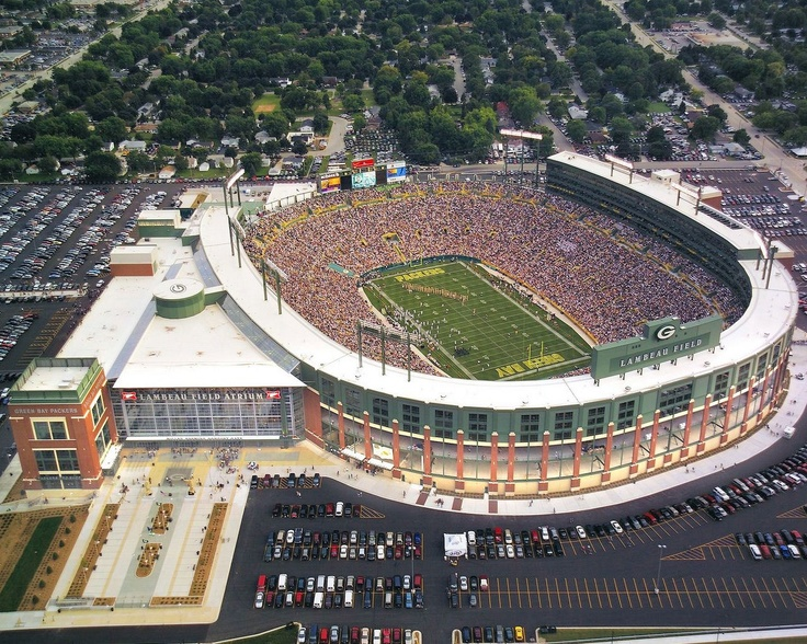 NFL Football Stadiums... Lambeau Field..