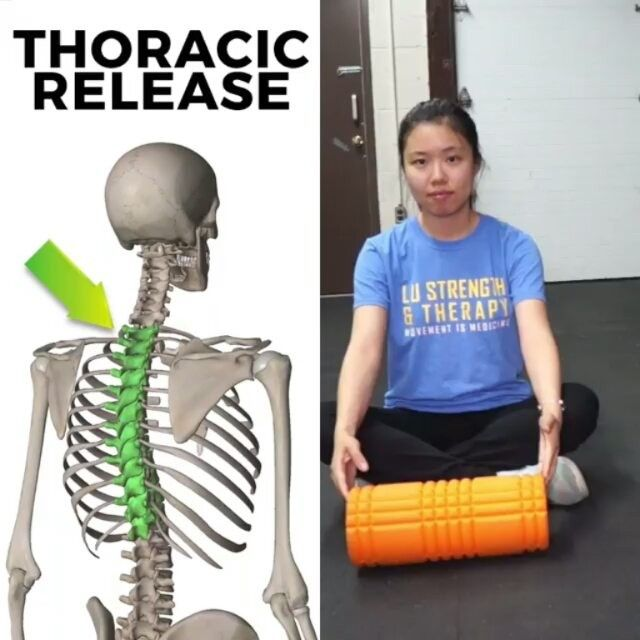 #Repost @lustrengththerapy with @insta.save.repost . 💥 HOW YOUR THORACIC SPINE CAN RUIN YOUR POSTURE 💥  With thoracic extension mobilizations being one of the most talked topics, it is also important to mobilize the thoracic spine in different planes an