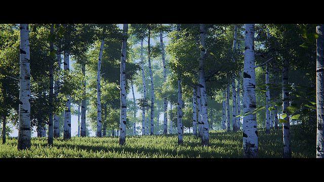 Koola's stuff:  speedtree and real time lighting (movable sun/sky, dfao/gi)