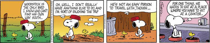 Peanuts by Charles Schulz for Nov 9, 2017 | Read Comic Strips at GoComics.com