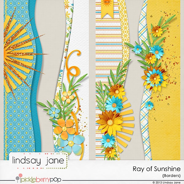 Fun Sunshiny borders!  Lindsay Jane Designs: June 2012