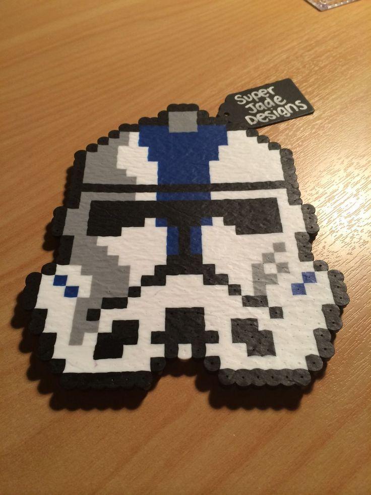 Stormtrooper Commander - Star Wars. via SuperJade Designs. Click on the image to see more!