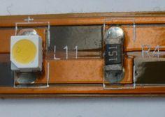 Anatomía de una tira de LEDs | Inventable