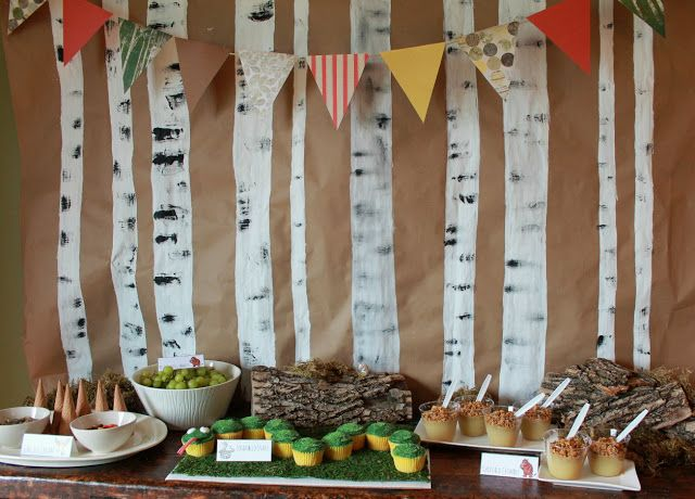 great Gruffalo party ideas! http://haverleecolyer.blogspot.com/2013/06/a-gruffalo-party.html