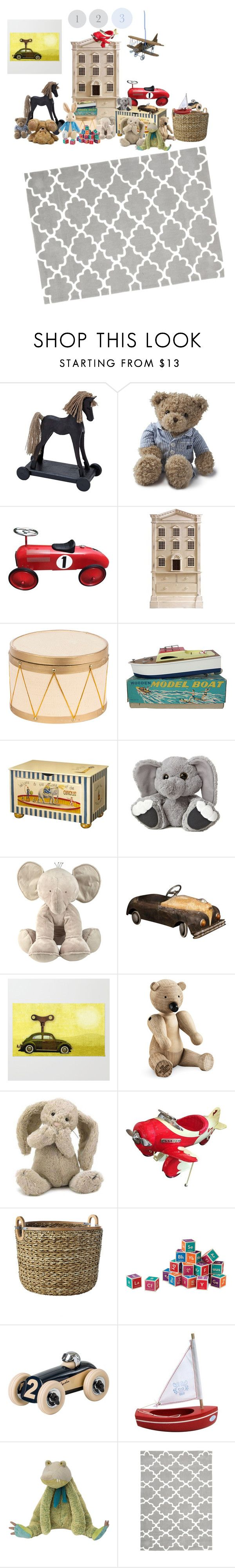 """""""Boys room"""" by dee-herrick ❤ liked on Polyvore featuring interior, interiors, interior design, home, home decor, interior decorating, Universal Lighting and Decor, Lexington, Andrew Martin and Dot & Bo"""