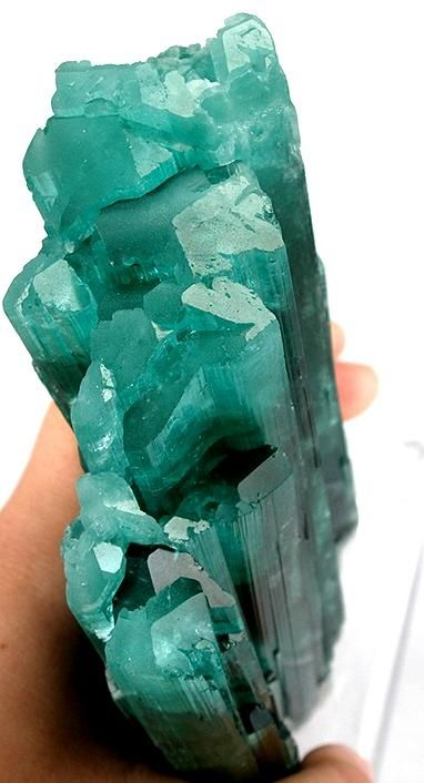 Indicolite tourmaline Oh, that teal color--one of my favorites.
