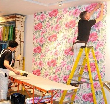 How to apply WALLPAPERS on walls? Like paint, wallpaper entails accurate surface preparation before application. Moreover wallpaper is not appropriate for all spaces. For instance, restroom wallpaper may deteriorate hastily due to excessive mist.