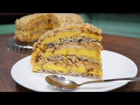 Египетский торт - простой рецепт приготовления - YouTube