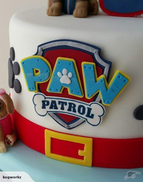 Paw Patrol Badge Logo Cake Topper | Trade Me