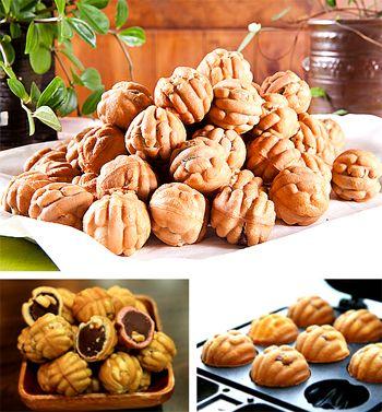 HO-DOO GWAJA (Walnut Cookies)