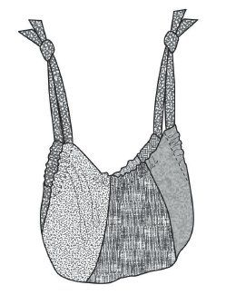 "Fat Quarter Gypsy Bag tutorial- Just like my ""hobo"" bag I've had since high school!"