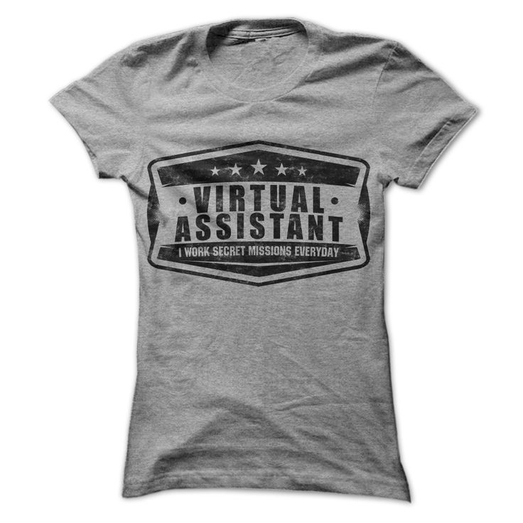 Each client you serve has a special project yet to be released. Whether its a blog post, newsletter, special event, or social media post, no one knows about it but you and them. Yes, as a virtual assistant, we work secret missions everyday! - Virtual Assistant T-Shirts #VirtualAssistants #VirtualAssistant #VA