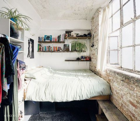 17 best ideas about small bedrooms on pinterest small for Small double bedroom decorating ideas