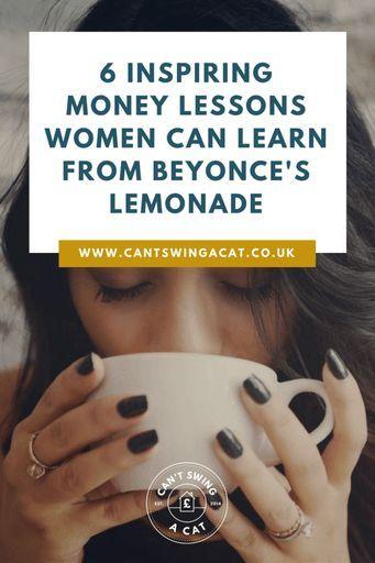6 Inspiring Money Lessons Women Can Learn From Beyonce's Lemonade | Feminism | Money Advice | Personal Finance Tips | Money Tips | Make Money