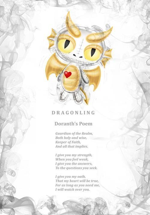 Doranth Dragonling's poem.  J