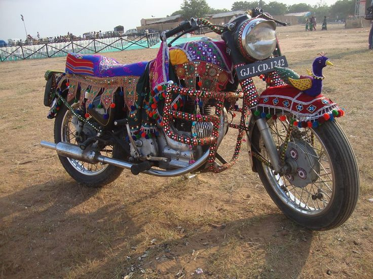 Traditional Bike Wear at Tarnetar Fair 2013 Organize by Gujarat Tourism - Design by Ankit Parmar