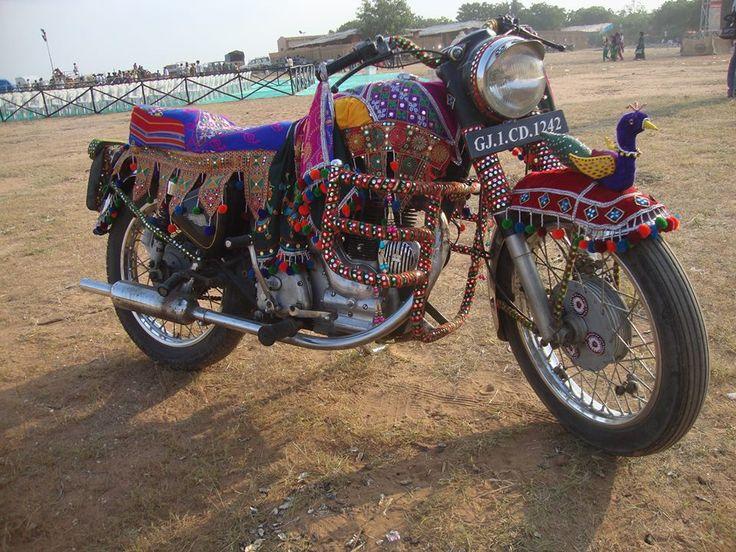 Traditional Bike Wear at Tarnetar Fair 2013 Organize by Gujarat Tourism - Design by Ankit Parmar