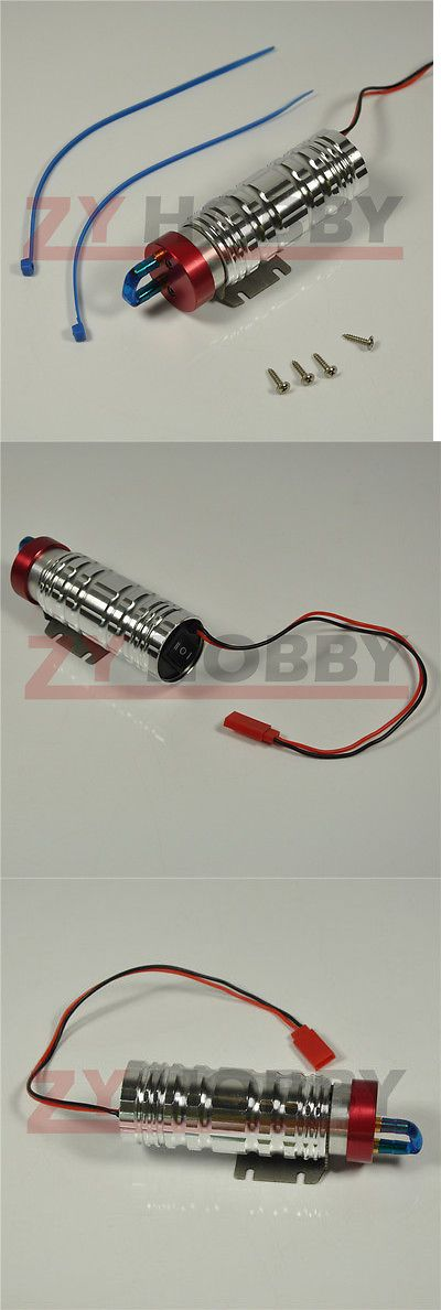 Fuel Delivery and Accessories 182191: Cnc Metal Machined Electronic Fuel Pump For Rc Gasoline And Nitro Airplane 95*32Mm -> BUY IT NOW ONLY: $34.99 on eBay!