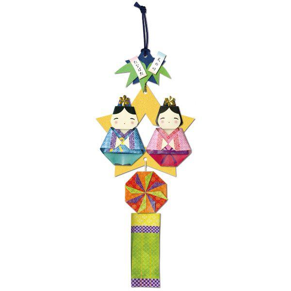 吊り飾り 手作りセット 織姫と彦星