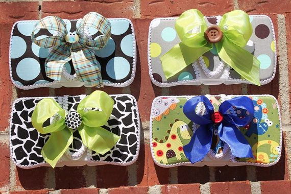 cute diaper wipe cases