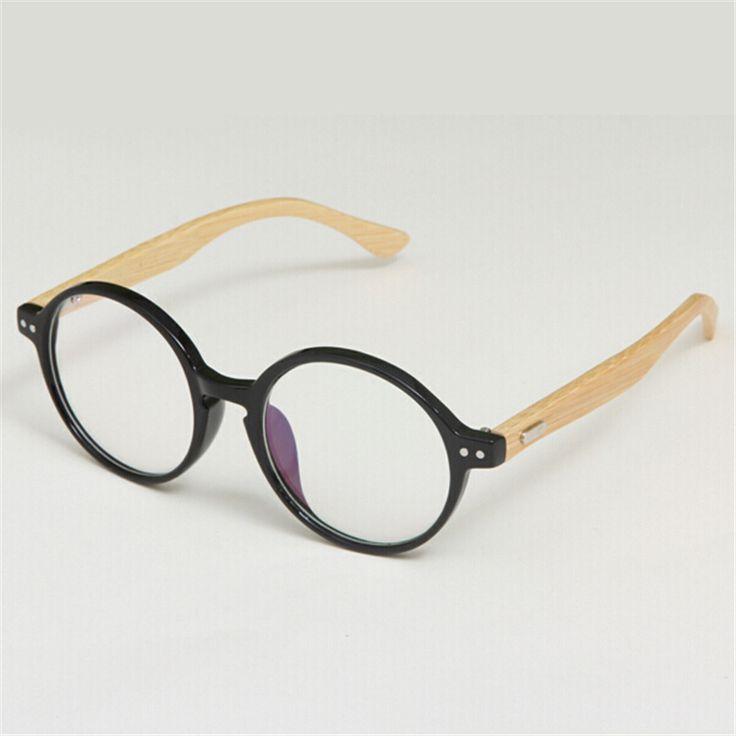 New Arrival Korean Vintage Glasses Frame Fashion Wooden Bamboo Myopia Eyeglasses Frame Simplicity Retro Optical Glasses Frame