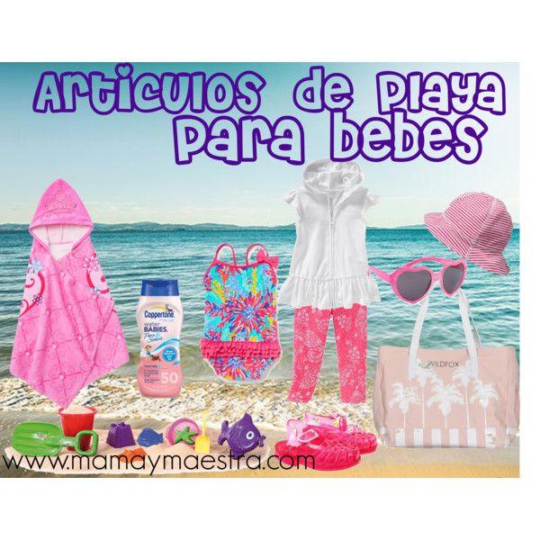 Art culos de playa para beb s mis imprescindibles - Fundas para cambiador de bebe ...