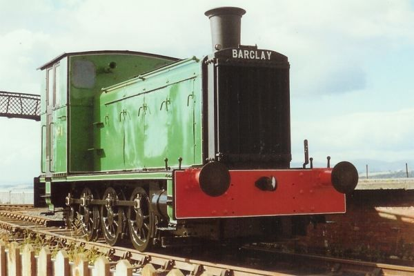 Andrew Barclay 0-6-0 Diesel-Mechanical No. 1 - The design of this early diesel locomotive was derived from a War Office 1936 order. It retains its original Paxman-Riccardo engine, developing 180BHP, and Wilson epicyclic gearbox.