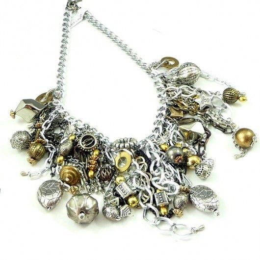 Prezent lux. Naszyjnik niezwykle bogaty / Gift lux. Necklace extremely rich :)