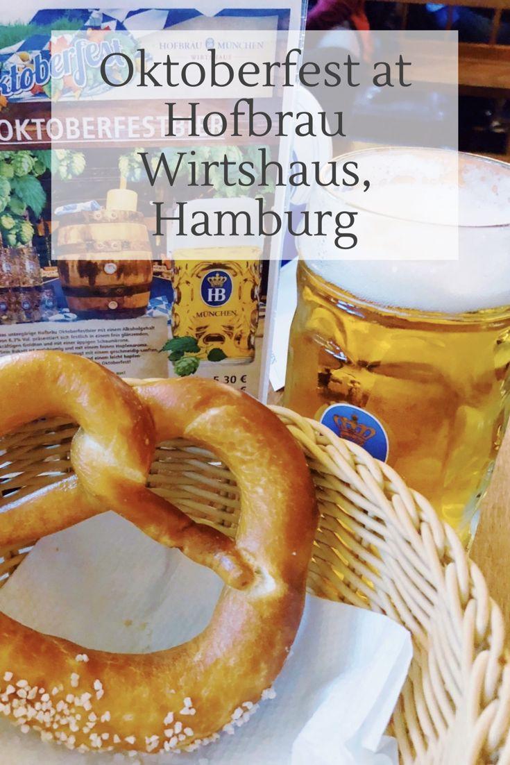 Oktoberfest at Hofbräu Wirtshaus on Speersort, Hamburg. Celebrate Oktoberfest i…