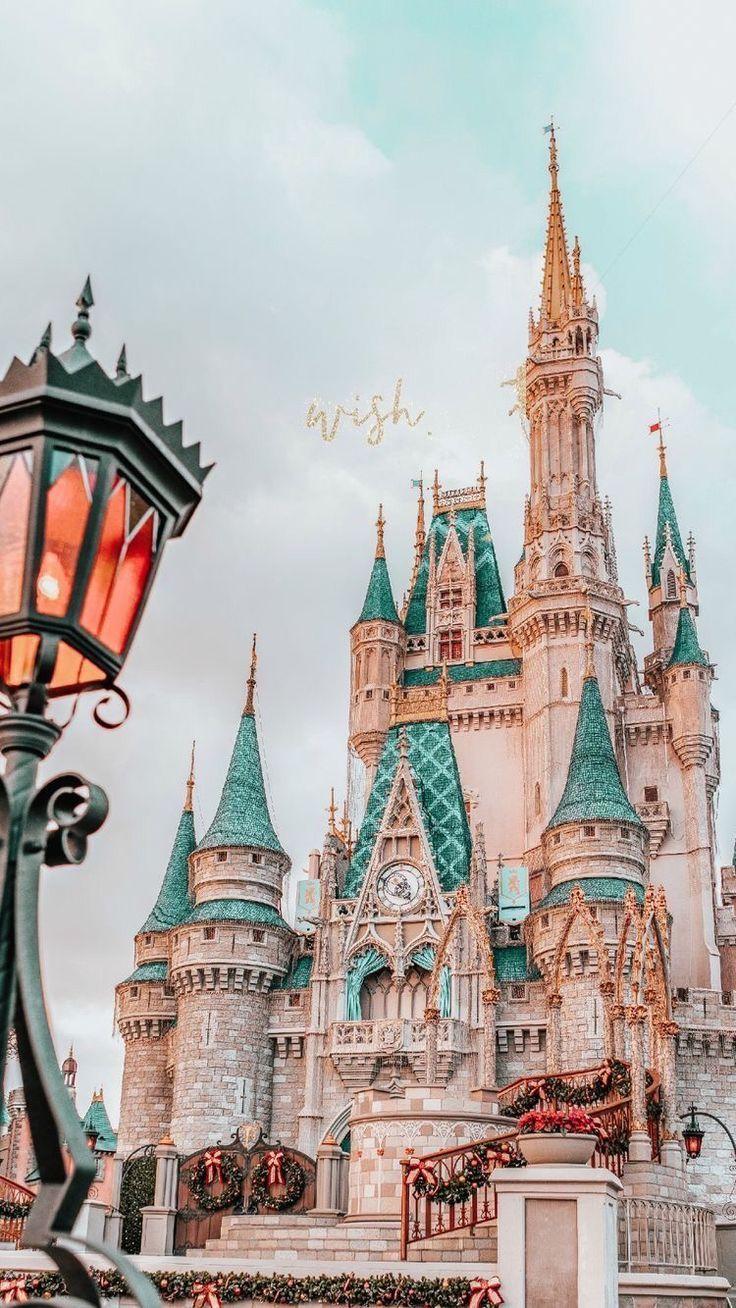 Cinderella Castle In 2020 Disney Phone Wallpaper
