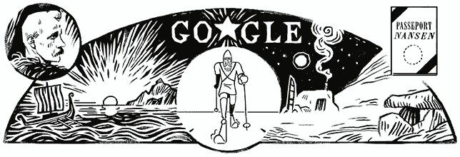 "Google is celebrating the 156th birthday of Fridtjof Nansen, a Norwegian humanitarian best known for helping the migration and resettlement of refugees following WWI. Nansen won the Nobel Peace Prize in 1922 for creating the ""Nansen passport,"" a travel document used after World War I for stateless refugees and prisoners of war."