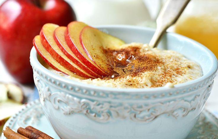 Cinnamon-Apple Breakfast Polenta | Rodale Wellness