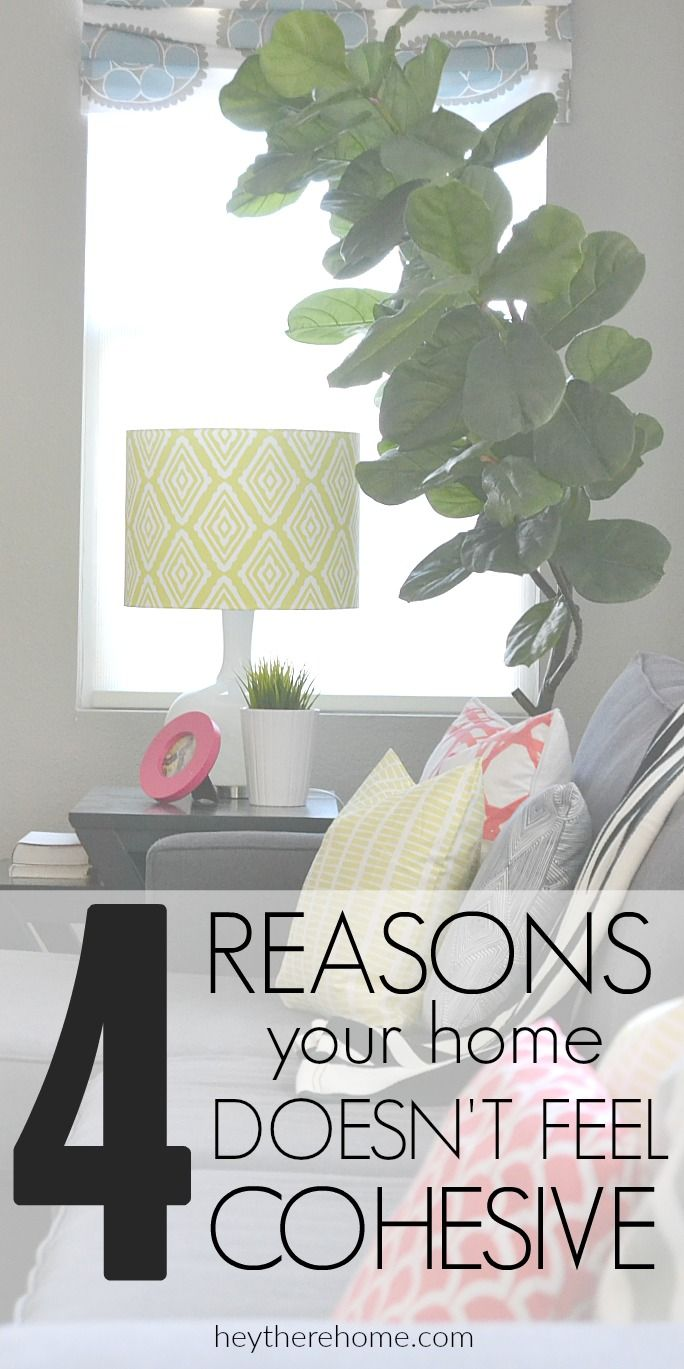 4 easy ways to make your home decor feel more cohesive