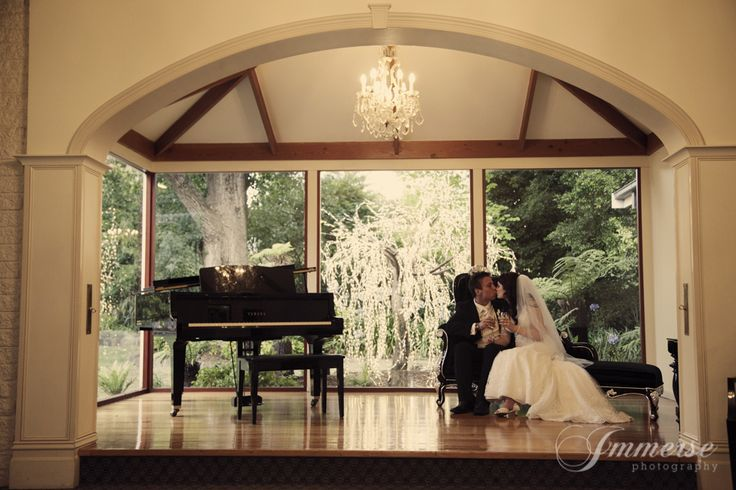 beautiful bride and groom in our atrium area