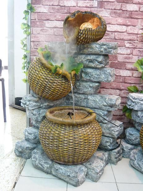 Rocks+Gardens+Water+Fountain   Garden Water Fountains (TM2189) - China Garden Fountains, Stone ...