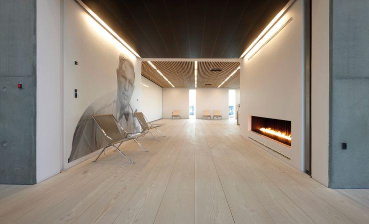 #parquet para #salones www.decorgreen.es VOLA Accademy _Denmark | aarhus arkitekterne
