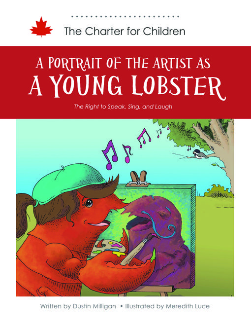 A mob of crabby lobsters imposes a rule of silence on everyone in the town. It is up to Aliya to use her talents as a visual artist to challenge the Lob-Mob and restore the town's freedom. This story seeks to teach children about the freedom of expression.