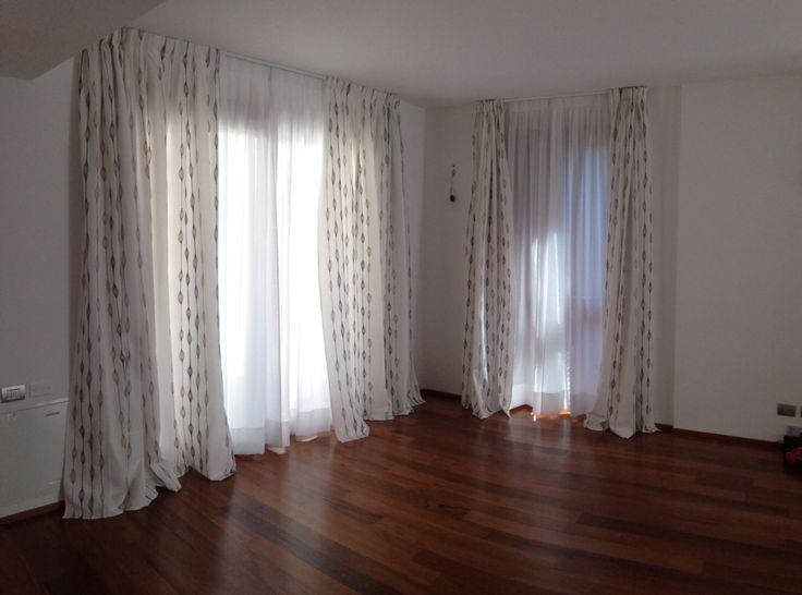 Le migliori 25 idee su Tende Di Lino su Pinterest  Restauro camera da letto, Tende trasparenti ...