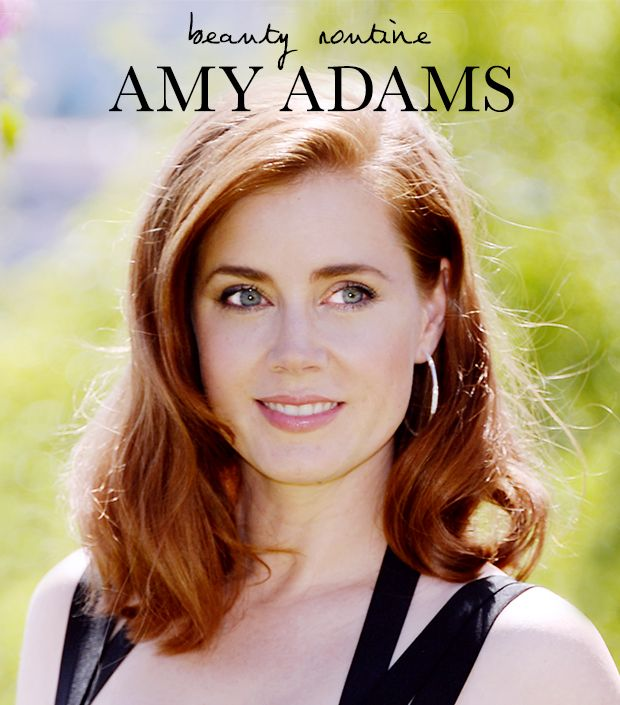 Amy Adams' Beauty Routine via @ByrdieBeauty