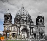 Berliner Dom (Berlin Cathedral) on Museumsinsel (Museum Island) in the Mitte district of Berlin