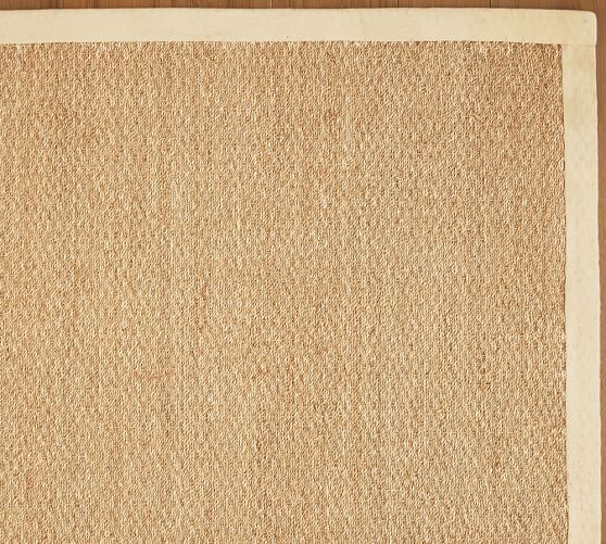 dining room colorbound seagrass rug natural pottery barn - Seagrass Rug