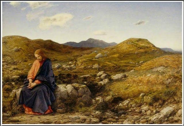 William Dyce (1806-64), Man of Sorrows - 1860