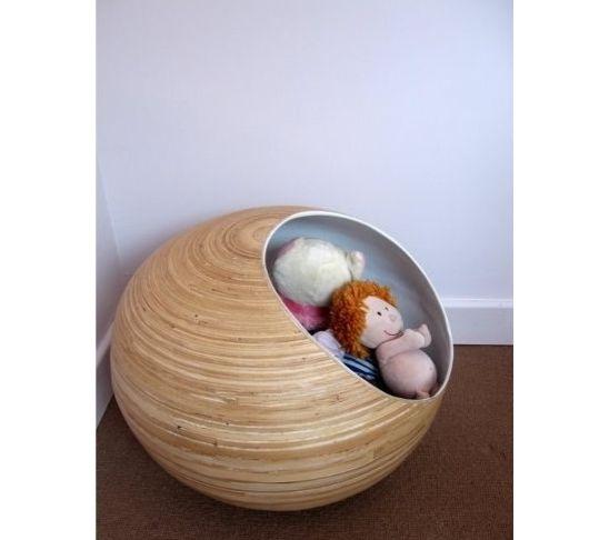 Grande Blanche   Contemporary   Toy Storage   Rededition