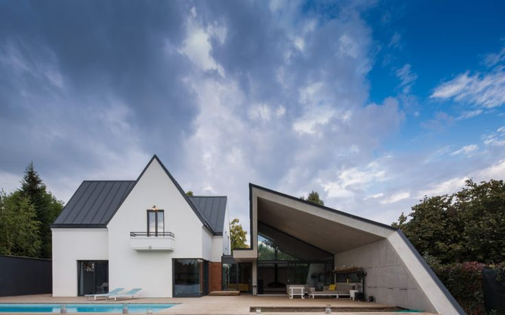 G3House 02 850x531 Modern Extension to a Home in Bucharest, Romania